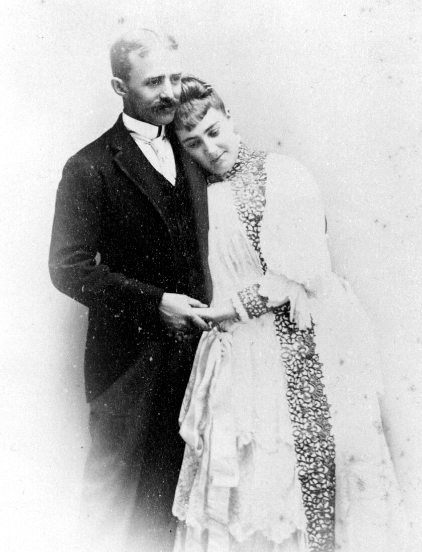 "Historic Photo of Horace Chase & Mary Ysabela ""Minnie"" Mizner"