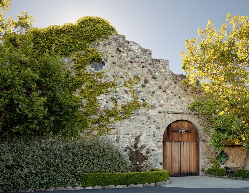 Historic Stags' Leap Winery: Old Stone Cellar