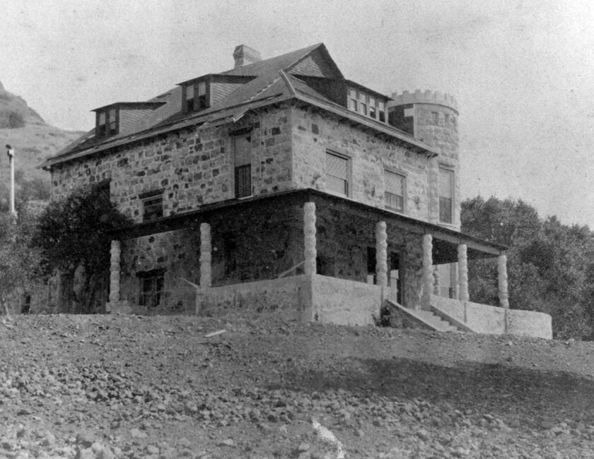 Historic Photo of Stags' Leap Manor House