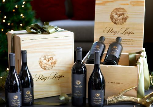 Estate Club Wine Shipment with Wooden Collectors Boxes