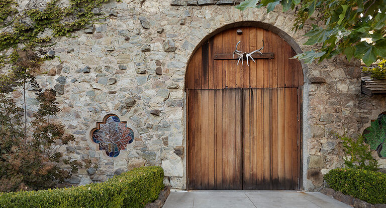 Stags' Leap Old Winery Door