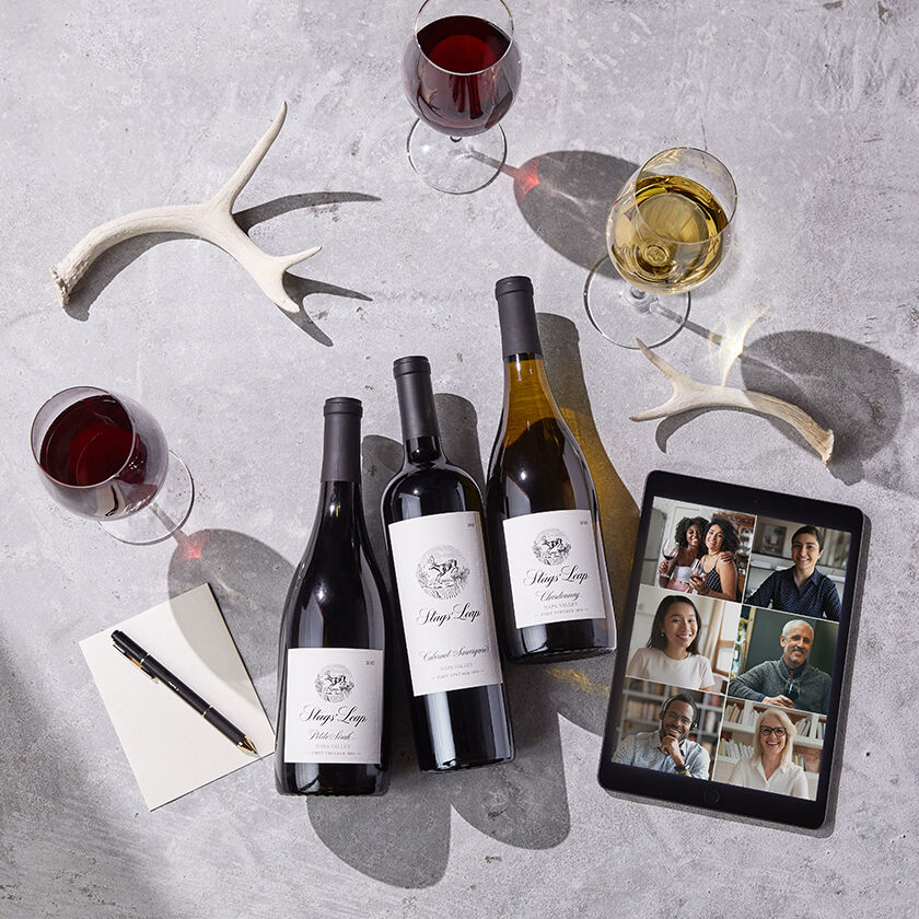 Stags' Leap Virtual Tasting Wines