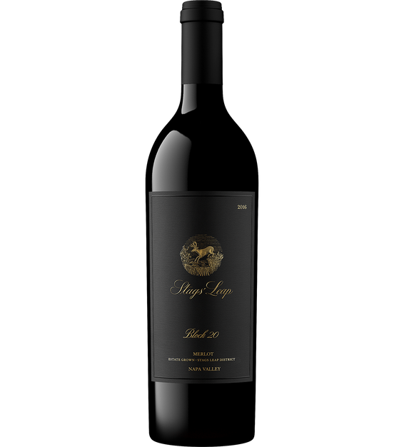 2016 Stags' Leap Block 20 Estate Grown Napa Valley Merlot