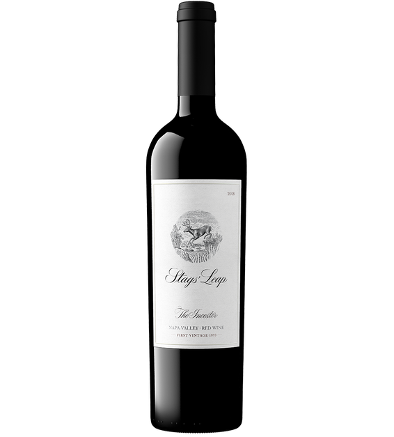 2018 Stags' Leap The Investor Red Wine Napa Valley Front Bottle Shot