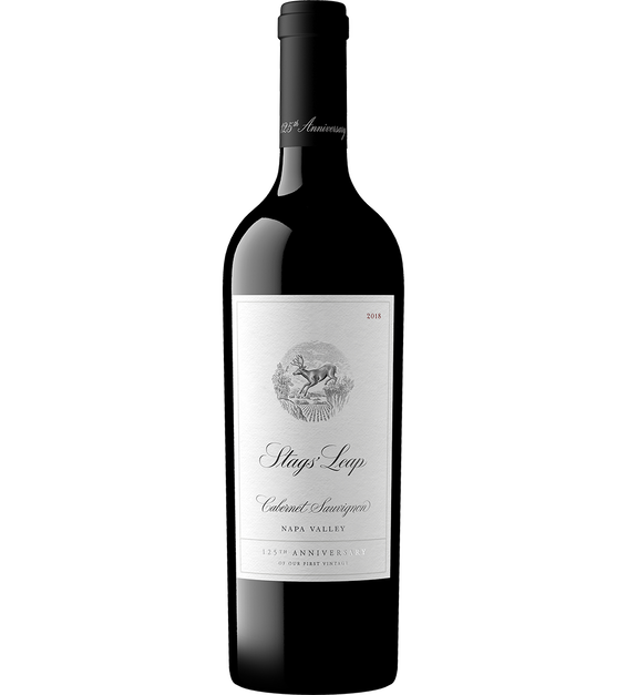 2018 Stags' Leap 125th Anniversary Napa Valley Cabernet Front Bottle Shot