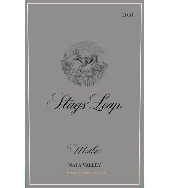 2016 Stags' Leap Napa Valley Malbec Front Label