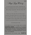 2016 Stags' Leap Napa Valley Malbec Back Label, image 3