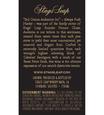 2012 Stags' Leap Audentia Estate Grown Napa Valley Cabernet Sauvignon Back Label, image 3