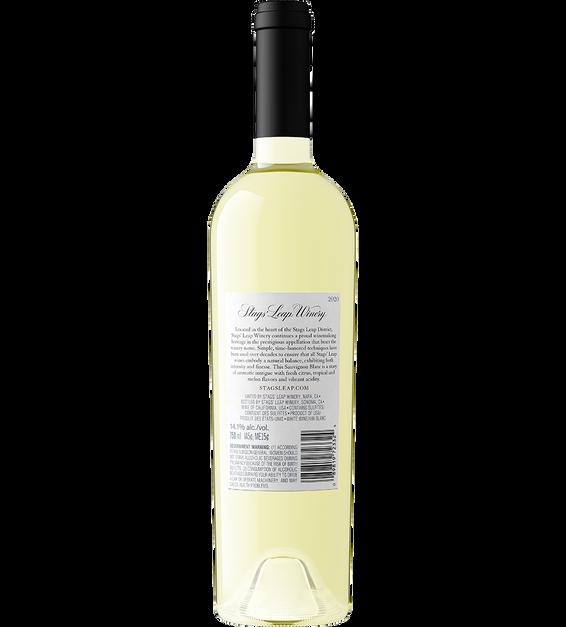 2020 Stags' Leap Napa Valley Sauvignon Blanc Bottle Shot Back Label