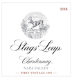 2018 Stags' Leap Napa Valley Chardonnay Front Label