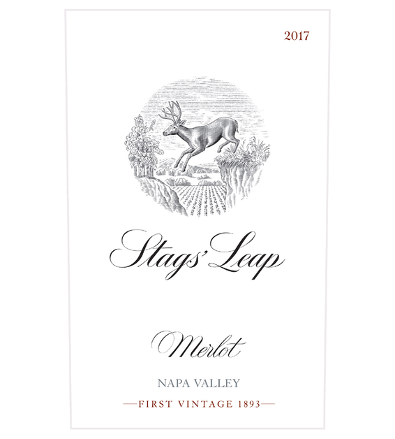 2017 Stags' Leap Napa Valley Merlot Front Label