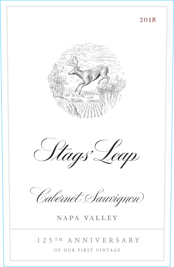 2018 Stags' Leap 125th Anniversary Napa Valley Cabernet Front Label