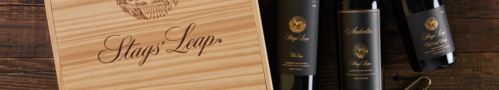 Stags' Leap Wooden Wine Box