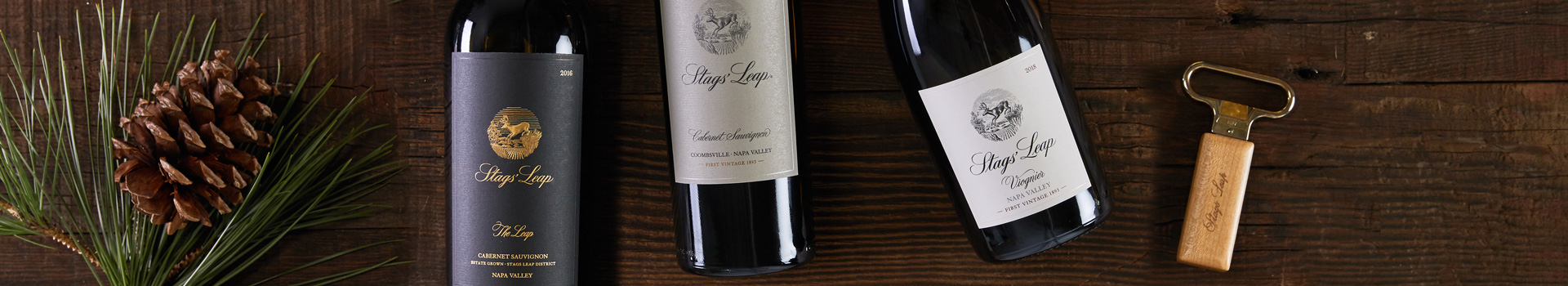 Stags' Leap Napa Valley Cabernet Sauvignon - Coombsville & The Leap