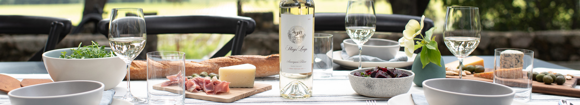 Stags' Leap Napa Valley Sauvignon Blanc Paired with Food